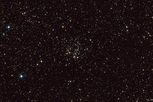 Рассеяное скопление NGC 663 в Кассиопее