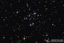 M34 - рассеянное скопление в Персее