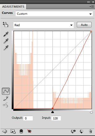 Красный канал «исходного» изображения