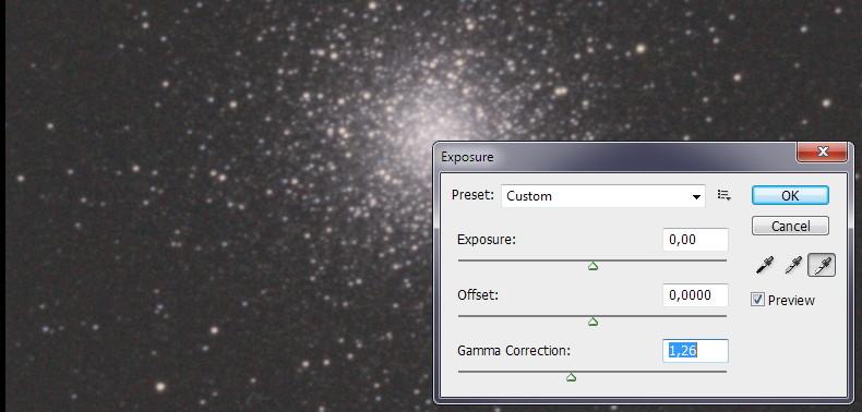 Гамма-корекция в фотошопе