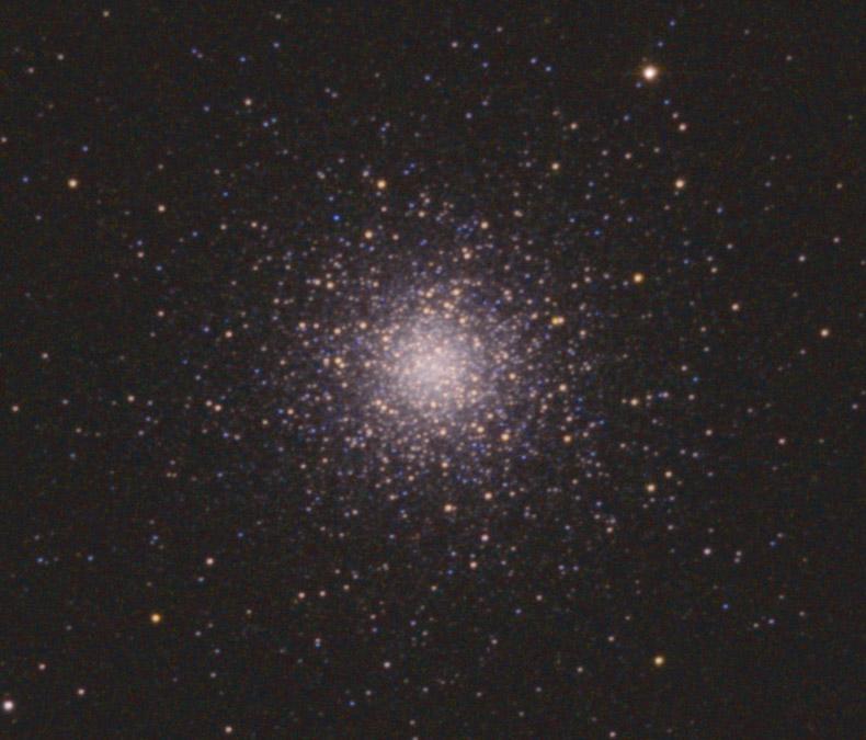 Изображение после усиления цвета звёзд