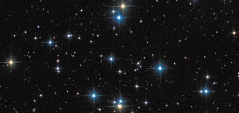 Диски звезд без цвета