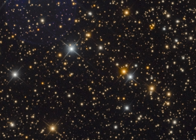 Размытие звезд