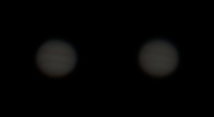 Примеры исходных снимков Юпитера