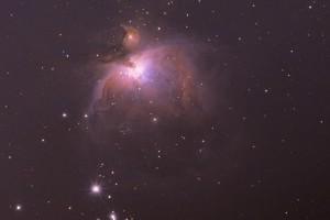 Пример обработки Туманности Ориона