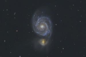 M51 - галактика «Водоворот»