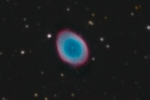 Туманность «Кольцо» M57 в Лире