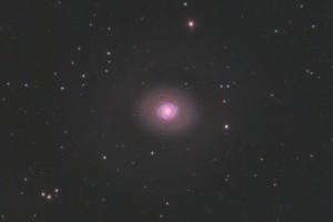 Галактика M94 в Гончих Псах