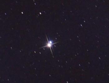 Пример треков звезд при неверном гидировании