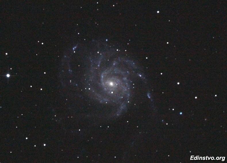 M101 — техническое изображение