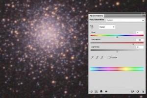 Обработка астрофото в фотошопе на примере M3 . Часть первая
