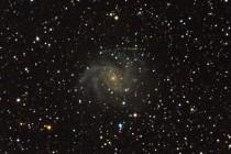 Сверхновая в галактике «Фейерверк» (NGC 6946)