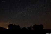 Кассиопея и её окрестности - звёздные поля
