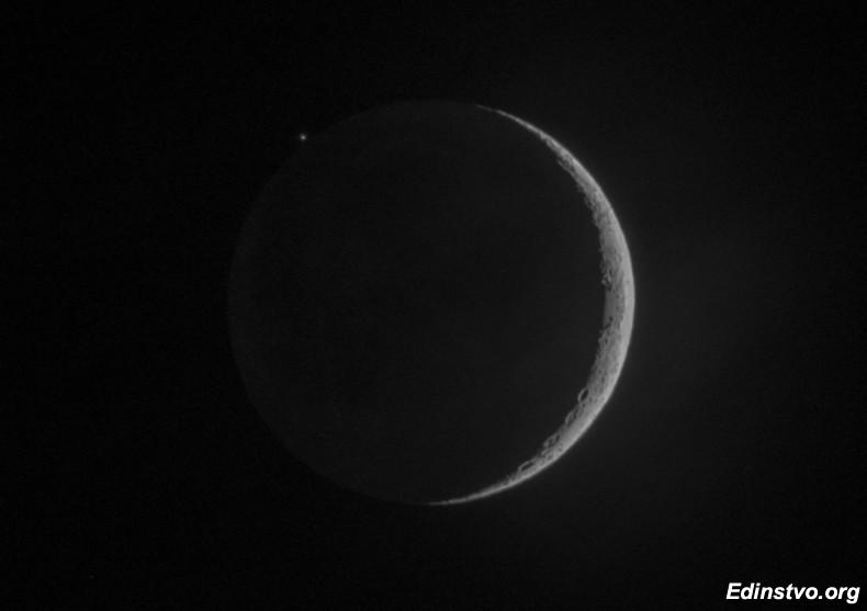 Покрытие Альдебарана Луной 28 апреля 2017 г.