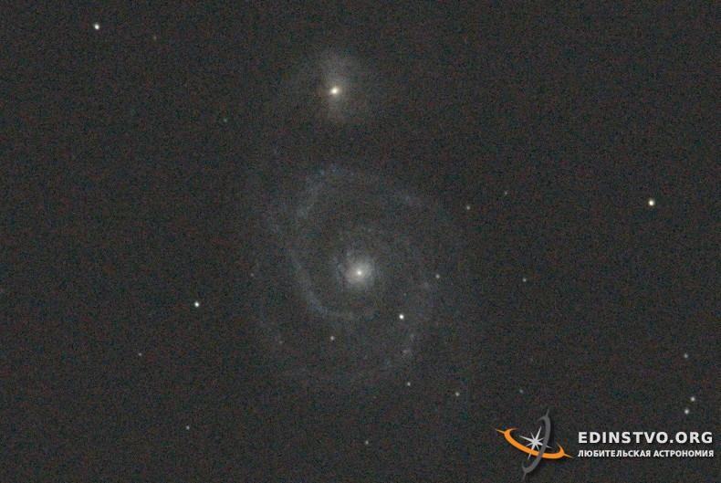 M51 в Большой Медведице — Nikon D5100
