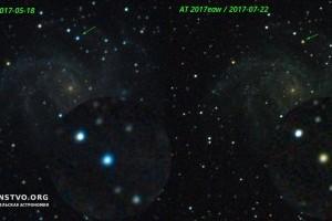 Сверхновая в галактике «Фейерверк» (NGC 6946) изменила цвет