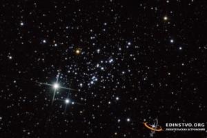 Рассеянное скопление «Стрекоза» NGC 457