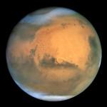 Снимок Марса космическим телескопом «Хаббл»