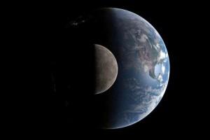 Затмение Луны в июне 2011 г