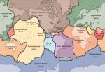 Тектонические плиты Земли